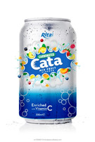 330ML canned Carbonated Mix Fruit Flavour Drink