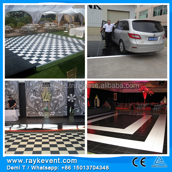 RK durable materials for dance floor wedding decoration event crystal box