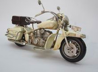 Fashion supplies metal craft antique motorcycle models