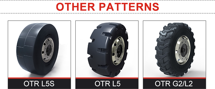E3 China Supplier Off The Road OTR Tires