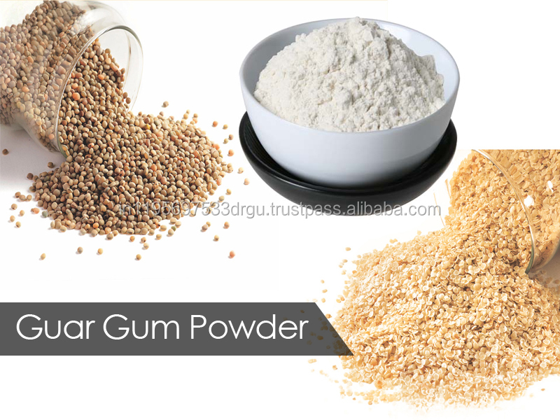 High Quality Food Grade Guar Gum From India Food Additive