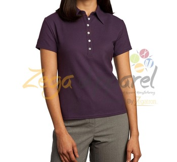 Zegaapparel polo shirt five buttons placket