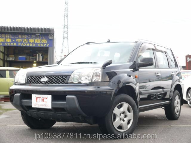 Good looking and Right hand drive suv used japanese cars X-TRAIL 2.0Stt 4WD 2002