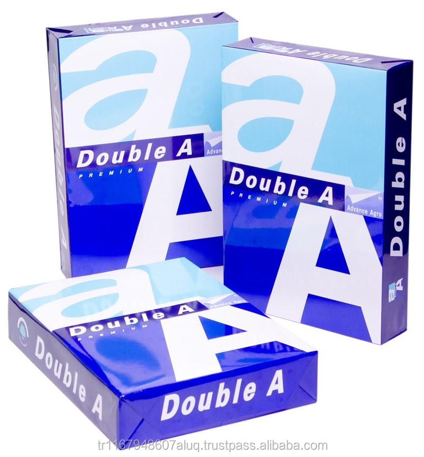 Double A4 copier paper for export Turkish origin