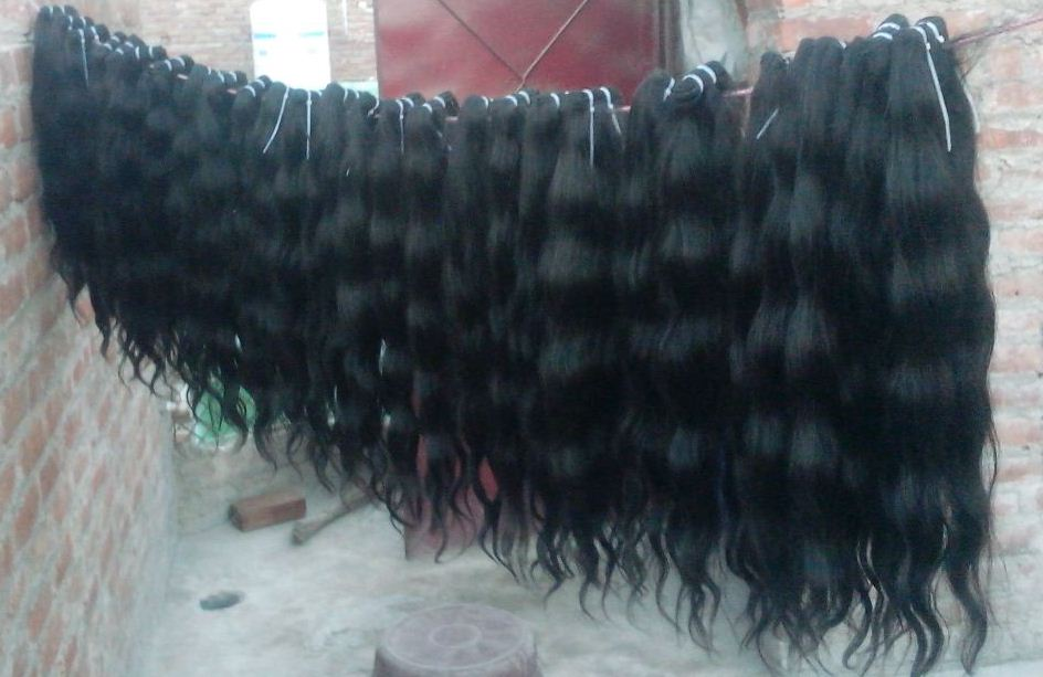 Raw unprocessed virgin human hair ,cuticle intact no shedding no tangling curly 100% Indian human hair From Lucky Hairs