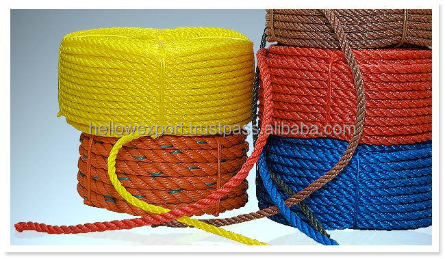 pp rope string manufacture