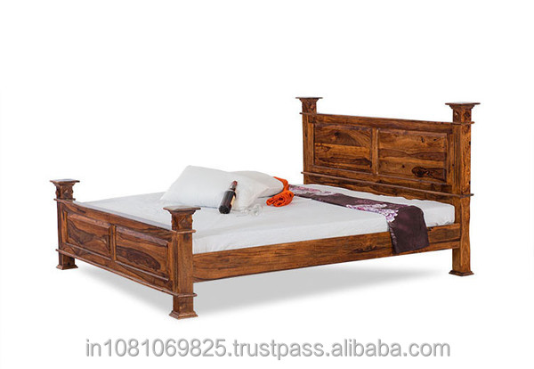 kings crafts solid wood design bed