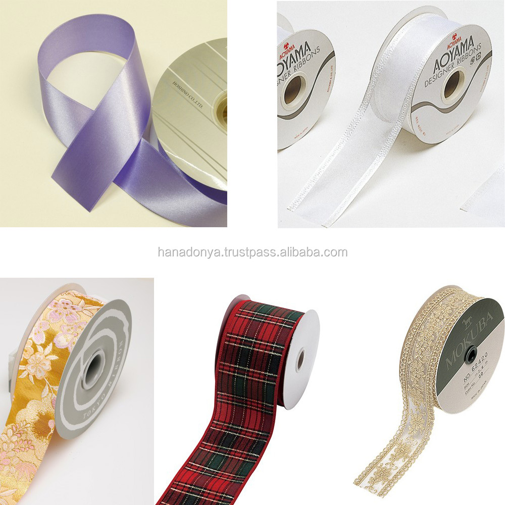 Fashionable and High quality 100% pure silk ribbon at reasonable prices , small lot order available