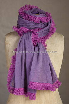 Lace fashion scarf