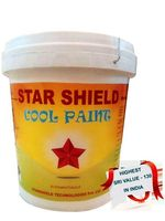 StarShield - (10 Ltrs) Best Eco Friendly Solar Reflective & Insulating High Albedo Heat Resistant Cool Paint Coating for roof