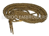 Uniform Aiguillette Dark Gold Mylar