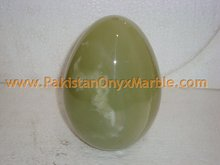 PURE GREEN ONYX EGGS HANDICRAFTS