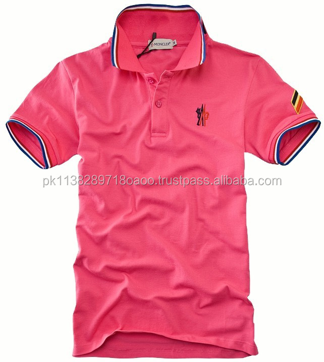 Summer Clothing 65% Cotton+35% polyster material /Polo T Shirt