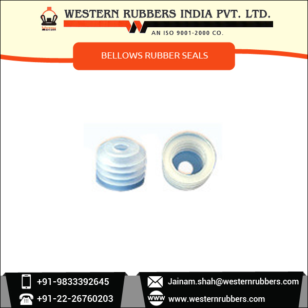 Bellows Rubber Seals for Automobile, Machine Tool and Medical Industry