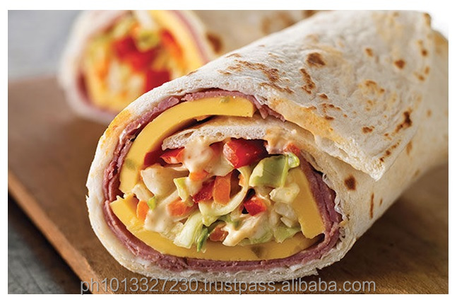 Certified Organic COCONUT PITA BREAD WRAP - for Shawarma, Buritos, Soft Taco Shell