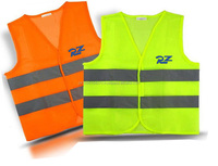 New Fluorescent High Visibility Safety Vest with Reflective Strips ANSI CLASS 2, XL
