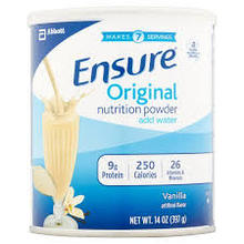 Ensure Vanilla Nutrition Powder 14oz (6/14oz)