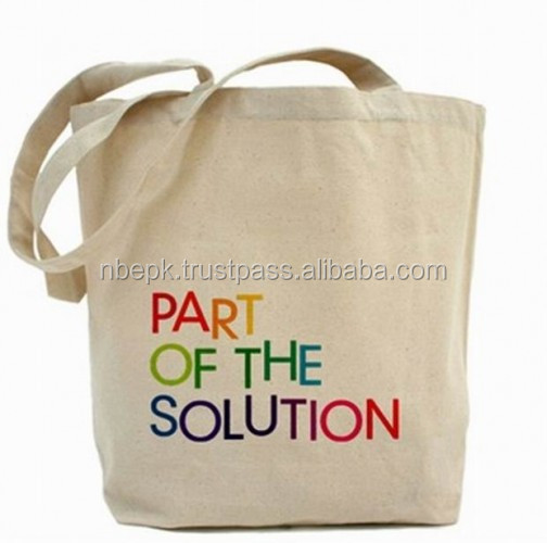 CUSTOM PRINTED ECO FRIENDLY ENVIRONMENT SHOPPING BAGS