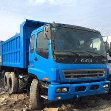 Top quality Blue color 6x4 Rebuilding Used Isuzu dump truck