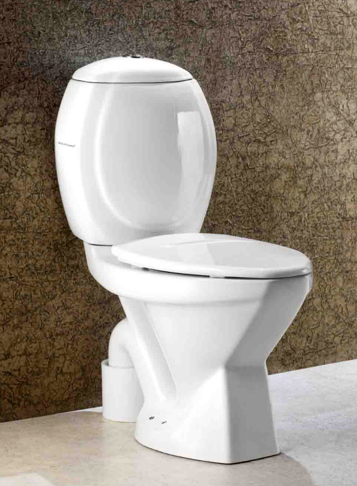 JAZZ CASCADE - TWO PIECE TOILET COMMODE