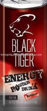 Bonjour Black Tiger Energy Powder Drink