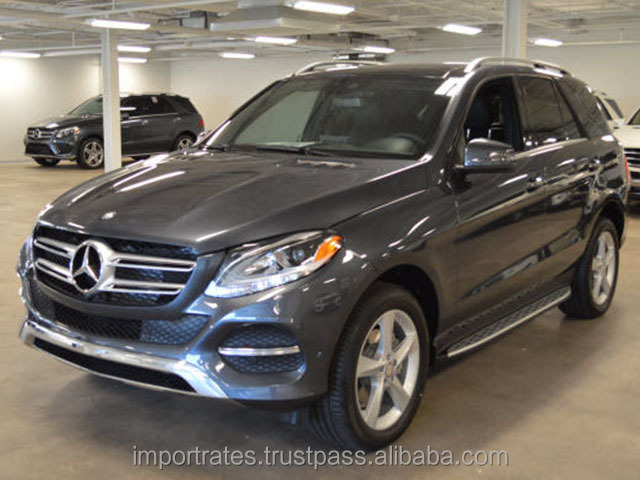 Import/Export Ready 2016 Mercedes-Benz GLE-Class GLE300d 4MATIC SUV