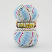 Multi Color Baby Hand Knitting Yarn 59502