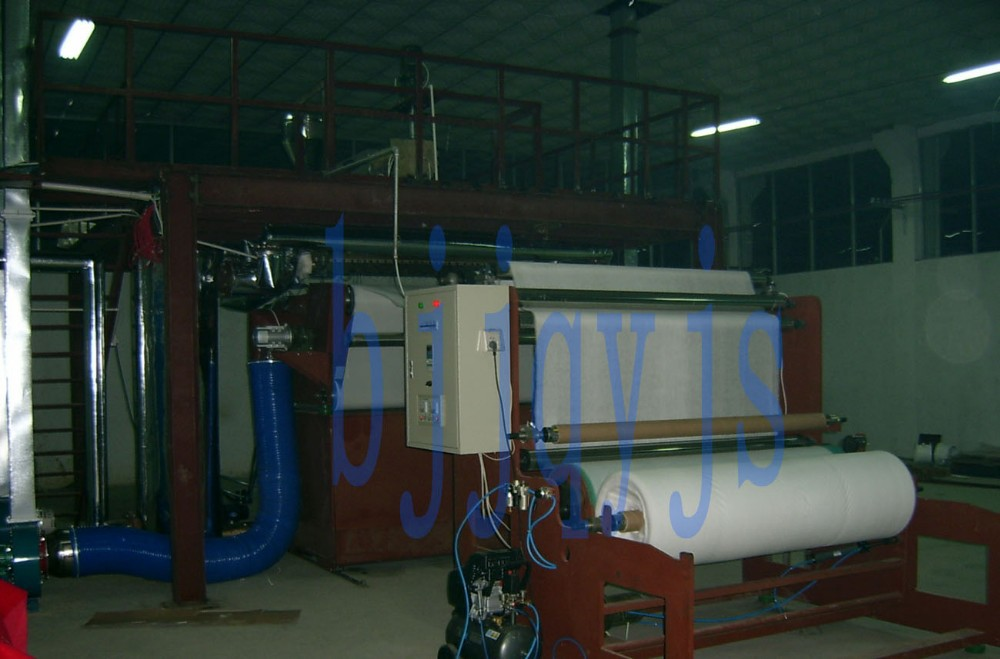 oil absorbent pads machine