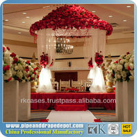 telescopic pipe and drape truss trade show display booth decorative lining marquee party tents event tents