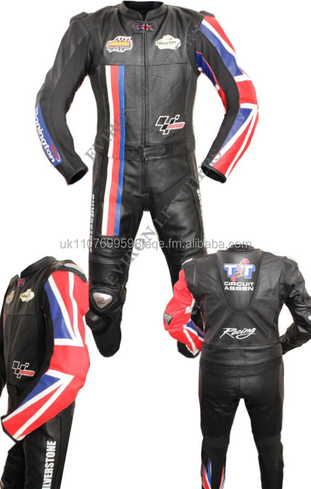 Motorcycle Racing Leather Suit- UK deisgn