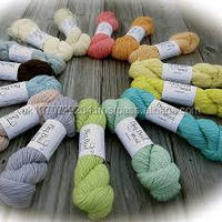 100% super wash merino wool yarn knitting yarn manufacture , scoured wool