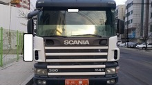 2002Y SCANIA USED Dump Truck 380 25 Ton FOR SALE in Korea