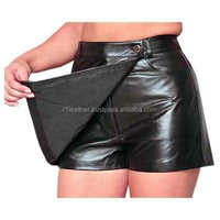 FREE SAMPLE!! Latest Fancy Different Types leather skirt with zipper