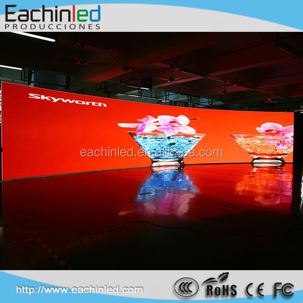 semi indoor outdoor p5.95 curved led video wall screen for concert stage backdropsbackground
