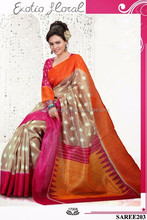 SOUTH INDIAN BRIDAL SAREE-SOUTH INDIAN COTTON WHOLESALE SARI-PARTY WEAR COTTON SAREE