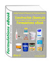 Construction Chemicals (Grouts, Chaulks, Sealants, Putties & Adhesive) Formulations eBook(eBook22) has 25 formulations inside