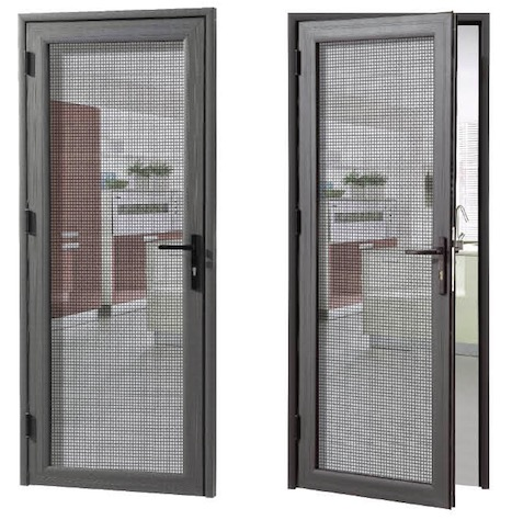 80 Hinge type security screen doors