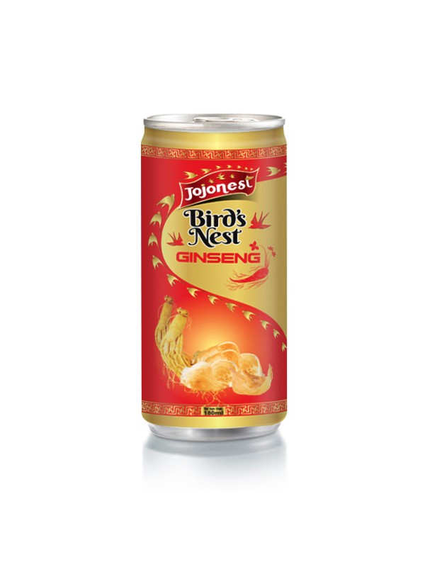 Natural Bird's Nest Coconut Drink in Aluminium can 200ml Bird nest wholesales