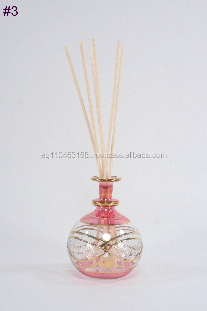 Elegant Glass Reed Diffuser For Gift