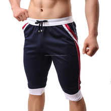 Polyester gym short with side pockets/Polyester gym short with elastic waistband