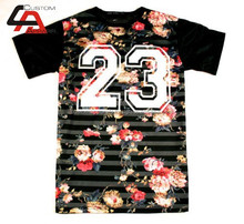 Wholesale Professional custom design full sublimated Animals 3D t shirt