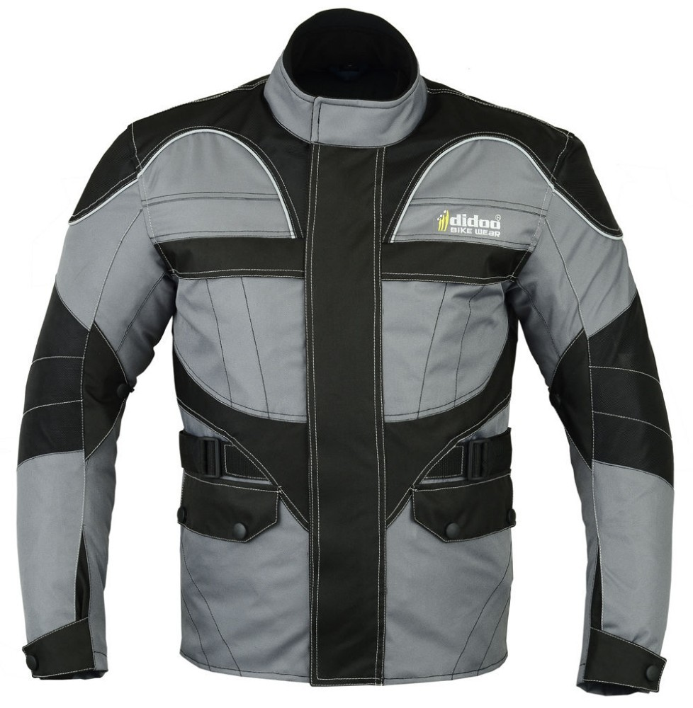 New Mens Cordura Textile Armoured Motorbike Motorcycle Wind Racing Sports Jacket