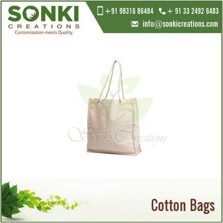 Promotional Cotton Shopping Tote Bag with Customized Print