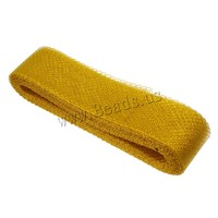 yellow Plastic Net Thread Cord Clearance Jewelry Supplies