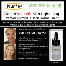 Nur76 Scientific Skin Lightening serum cream
