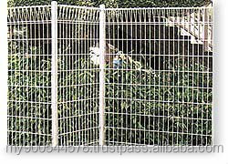 PVC Coated Steel Construction BRC Fence/BRC Wire Mesh Size (ISO 9001)