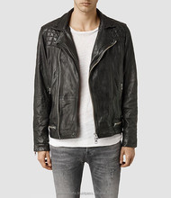 wholesale used pure leather jacket for men