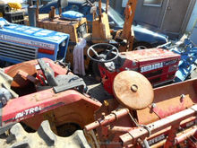 used farm tractors for sale SHIBAURA D235F used wheel tractor