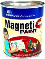Magnetic Primer Paint - wall like a surface of a fridge - 0,75l