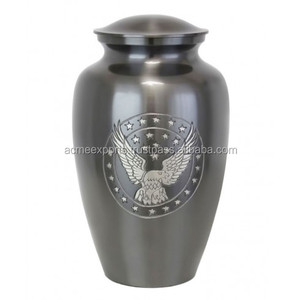 Cremation urns brass Eagle Urn